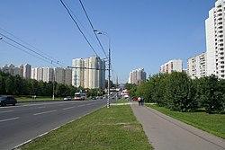 Skyline of Moskvorechye-Saburovo縣