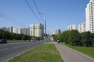 Moskvorechye-Saburovo District - Image: Москворечье Сабурово Пролетарский проспект