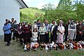 Народ в ожидании освящения Пасхи 2013 фото 2.JPG