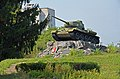 Пам'ятник (танк Т-34) радянським воїнам-танкістам, визволителям міста від окупантів.jpg