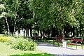 Парк Сосенки в Царицыно. Лавочки.JPG