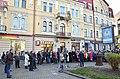 Тернопіль - Вулиця Гетьмана Сагайдачного - Відкриття макети будівлі Першої тернопільської гімназії - 18113365.jpg