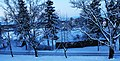 Царникава (Латвия) Зимняя дорога - panoramio.jpg