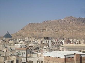Sarawat Mountains - Image: جبل نقم panoramio