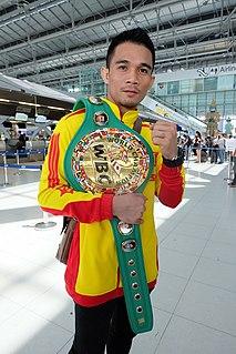 Srisaket Sor Rungvisai Thai boxer