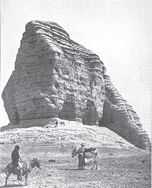 Dur-Kurigalzu - The Ziggurat of Dur-Kurigalzu (1915).