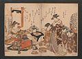 「吉原傾城」新美人合自筆鏡-Yoshiwara Courtesans- A New Mirror Comparing the Calligraphy of Beauties (Yoshiwara keisei- Shin bijin awase jihitsu kagami) MET JIB91 007.jpg
