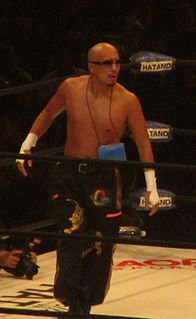 Punch Tominaga Japanese professional wrestler