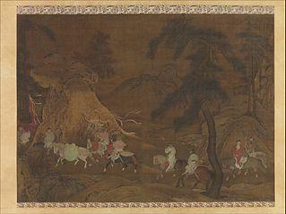 Emperor Xuanzong's Flight to Shu