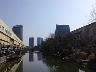 Haining County-level city in Zhejiang, Peoples Republic of China