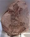 -1230 Ostrakon mit König auf Thron anagoria.JPG
