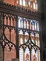 -2019-11-08 Decorated wooden tracery screen, Saint Peter & Saint Paul, Cromer.JPG