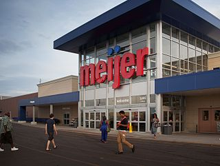 Gateway Marketplace shopping mall located within the city of Detroit, Michigan