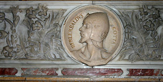 Erlembald - A bust of Erlembaldus Cotta in the Basilica of San Calimero in Milan