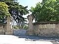 038 Can Balet, o Vil·la Matilde (Premià de Dalt), portal del recinte, riera de Sant Pere 56-58.jpg