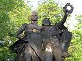085 Els herois Záboj i Slavoj, de Josef Myslbek.jpg