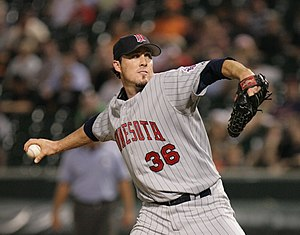 Joe Nathan - Nathan with the Minnesota Twins in 2006
