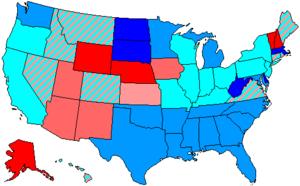 United States House of Representatives elections, 1986 - Image: 100 us house membership