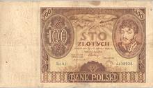 100 złotych 1932 r.  AWERS.PNG