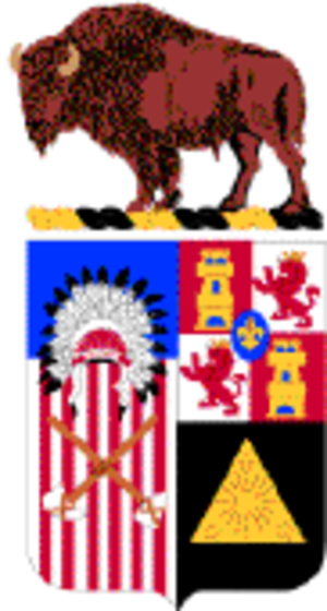 10th Cavalry Regiment (United States) - 10th Cavalry coat of arms