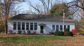 Marion, Connecticut - Schoolhouse on Marion Avenue