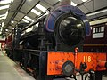 118 WD 0-6-0 ST Oxenhope Museum 1.jpg