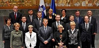Government of Slovenia - Miro Cerar's Government in 2014