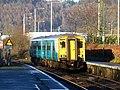 150256 Merthyr Tydfil to Barry Island 2Y45 at Taffs Well (23965120706).jpg