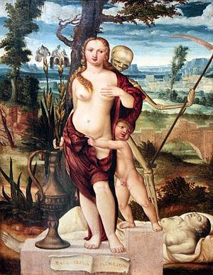 Barthel Beham - Vanity, 1540, Hamburger Kunsthalle