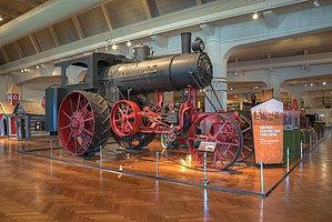 Steam tractor - Steam Tractor at the Henry Ford Museum
