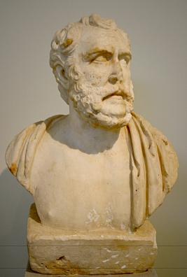 1669 - Archaeological Museum, Athens - Philosopher Polemon - Photo by Giovanni Dall'Orto, Nov 11 2009.jpg