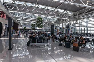 Bratislava Airport - Departures area