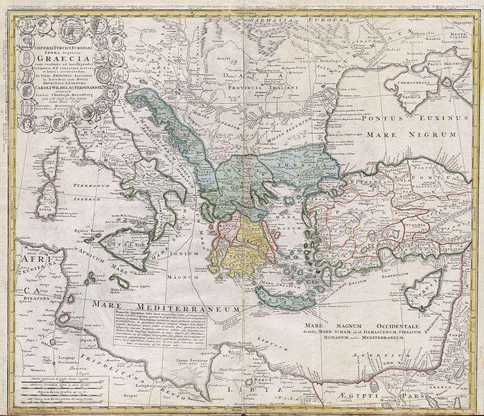 Mediterranean Map