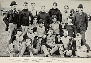 1894 Purdue Boilermakers football team - Image: 1894 Purdue football team