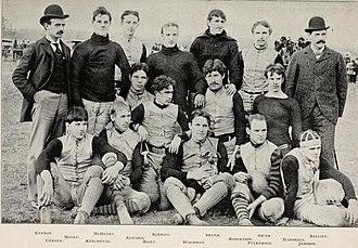 1894 Purdue Boilermakers football team - Image: 1894 Purdue football team