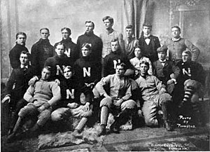 1897 Nebraska Bugeaters football team - Image: 1897 Nebraska Cornhuskers football team