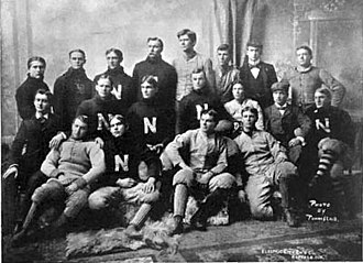 1897 Nebraska Bugeaters football team - Image: 1897 Nebraska Cornhuskers football team