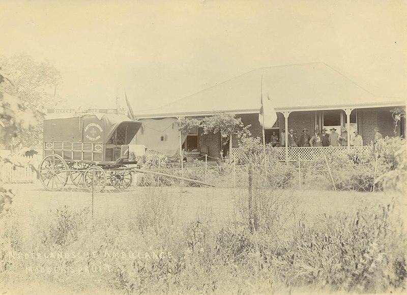 File:1900 Dutch ambulance Modderspruit.jpg