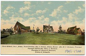 Christ School (North Carolina) - Postcard of Christ School, c. 1909-10