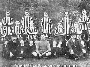 History of Newcastle United F.C. - Newcastle's 1910 FA Cup winning team