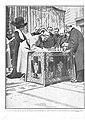 1910-04-07, Actualidades, El rey firmando el acta de los derribos que comenzaron el lunes último en la casa rectoral de la iglesia de San José, Goñi.jpg