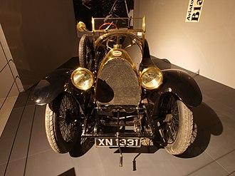 Bugatti Type 18 - Image: 1913 Bugatti Type 18 Sports Two seater Black Bess p 1