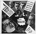 1932 - Rialto Theater Ad 27 Aug MC - Allentown PA.jpg