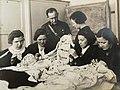 1937. Жены высшего комсостава ОКДВА вышивают карту СССР в подарок Сталину.jpg