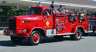 Four Wheel Drive - 1958 FWD fire engine
