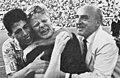 1963–64 Bologna FC - Championship tie-breaker - Haller and Bernardini.jpg