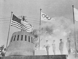 From Up on Poppy Hill - The 1964 Olympic flame. Tokyo Olympics was a symbol of the new Japan.
