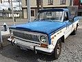 1978 Jeep J-10 pickup truck, 131-inch wb, 6200 lbs GVW, 258 CID six automatic blue-white 03.jpg