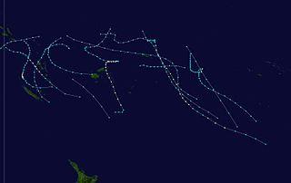 1986–87 South Pacific cyclone season cyclone season in the South Pacific ocean