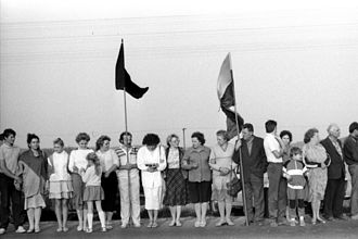 Baltic states - The Baltic Way was a mass anti-Soviet demonstration where approx. 25% of the population of the Baltic states participated